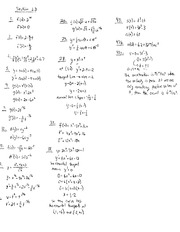 Homework G Solutions on Calculus and Analytic Geometry