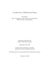 mathematics - A Guided Tour of Mathematical Physics