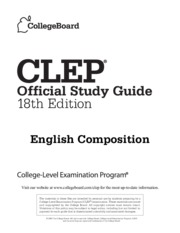 CLEP English Composition Exam Guide