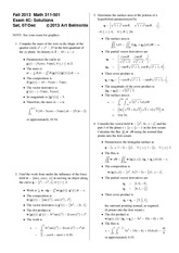 Exam 4 Version C on Topics in Applied Mathematics 1