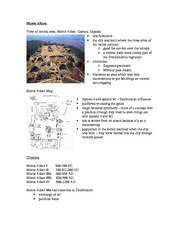 Lecture 4 notes - Monte Alban (Zapotecs)
