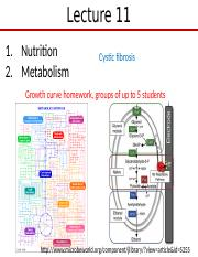 Lect 11 Microbial nutrition and metabolism-1