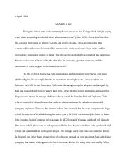 Steve Jobs research paper final