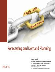 2 - Forecasting and Demand Planning v5.pptx