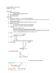 Exam Review - Unit 4 (Chapter 18) - Group B