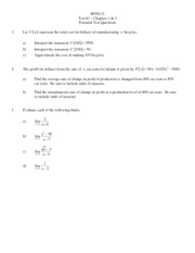 MTH121 Test #1 Potential (F13)(1)