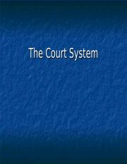 The Court System Presentation.ppt