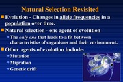 10-Natural selection review