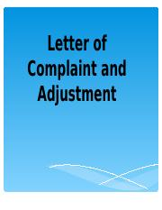 LETTER-OF-COMPLAINT-AND-ADJUSTMENT.ppt
