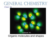 Chem 1A: organic molecules and shapes (rychnovsky)