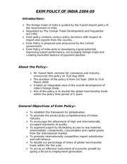 exim policy 2004 09