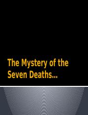 The Mystery of the Seven Deaths.pptx