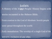 Presentation of Judaism (Final Draft)
