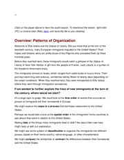 Pattern and organization