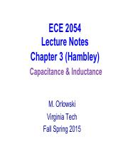 ECE 2054 Spring 2015 Lecture Notes Part 9