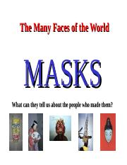 masks powerpoint.ppt