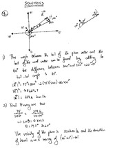 Application of Vectors SOLUTIONS