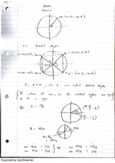 Related Angles and Trig Functions Lecture Notes 2