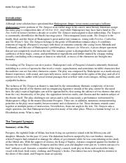 The Tempest Summary - eNotes.pdf