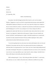 Habits of the Mind Essay