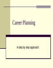 Career Planning (1).ppt