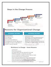 step in the change process