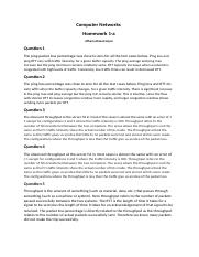 Computer Networks Homeowork 1-a .docx