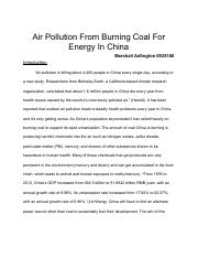 Air Pollution in China Essay.pdf