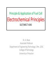 MECT 4345 : Applications of Fuel Cells - UH - Course Hero