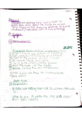 Public Relations Class Notes 9