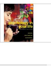 Psychology in Your Life _ Edition 2 by Sarah Grison, Todd Heatherton, Michael Gazzaniga _ _ 97803932
