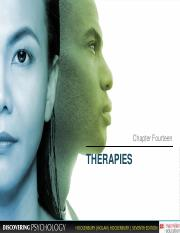 Chapter 14 Therapies