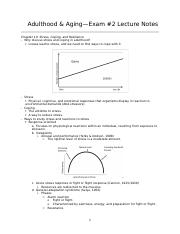 HDE100C Exam #2 Lecture Notes.docx