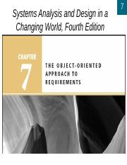 07 Systems Analysis And Design In A Changing World Fourth Edition 7 7 Learning Objectives Develop Use Case Diagrams Write Use Case And Scenario Course Hero