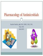 Antimicrobials .ppt