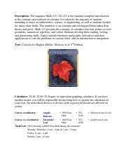 Calc 115 Team Homework Assignments - image 9