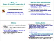 (24) Object Oriented Design