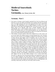 tactitus, germania, edited for fall, 2014.doc