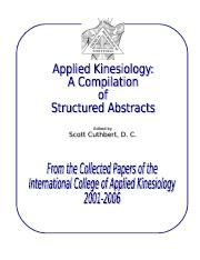 applied_kinesiology_collected_papers