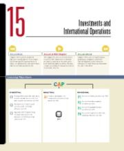 Chapter 15 Investments and International Operations