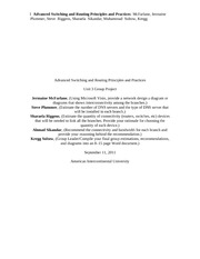 Advanced Switching and Routing Principles and Practices_Unit3_GP4_Final_Draft