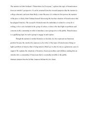 nightjohn compare and contrast essay