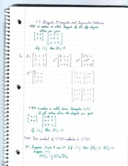 Triangular and Symmetric matrices