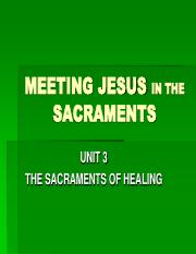 Sacraments Unit 3