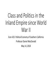 class 13_ class and politics in the IE.pdf