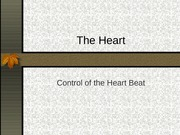 Control of heart beat-yr 12