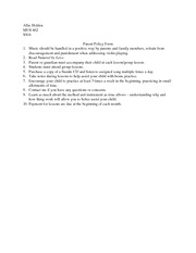 Holden_Parent Policy Form