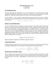 18-Advanced Topics in Gas Laws