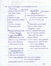 PHI2604 Chapter 1 Notes