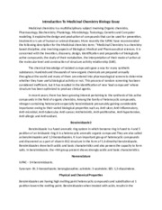 Introduction To Medicinal Chemistry Biology Essay.docx